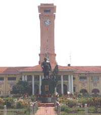 Clock Tower At Patna
